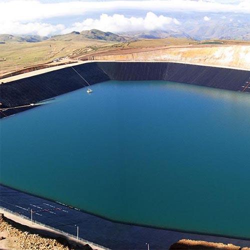 Geomembrana para lagos - 4