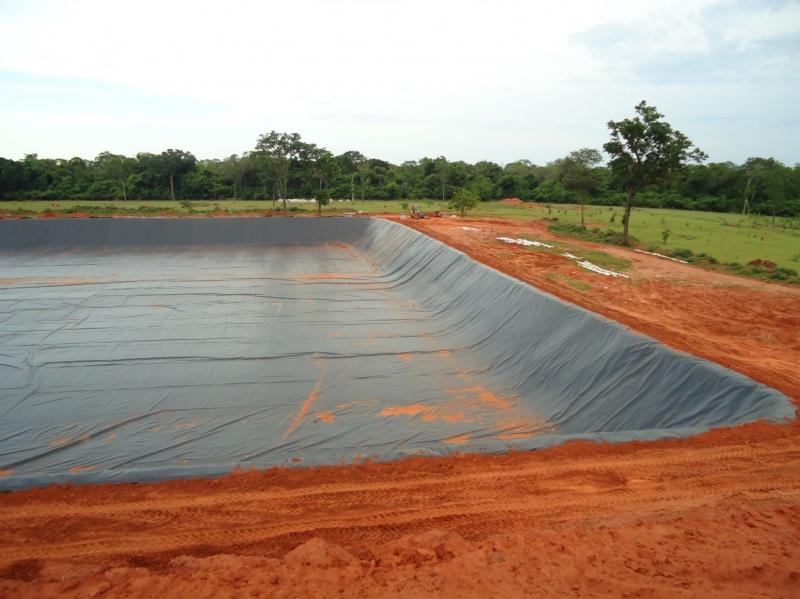 Geomembrana para reservatório de água - 3