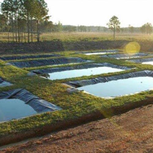 Tanque de geomembrana para piscicultura - 2