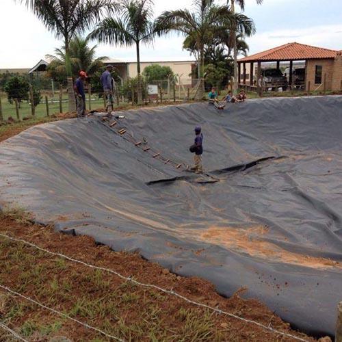 Manta de geomembrana para lagos